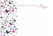 of a Dear Papa