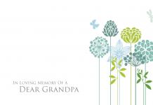 of a Dear Grandpa
