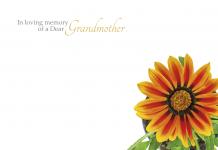 of a Dear Grandmother