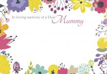 of a Dear Mummy