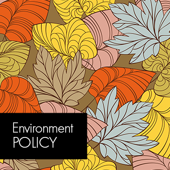 Our environment policy